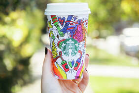 Starbucks 2017 holiday cups