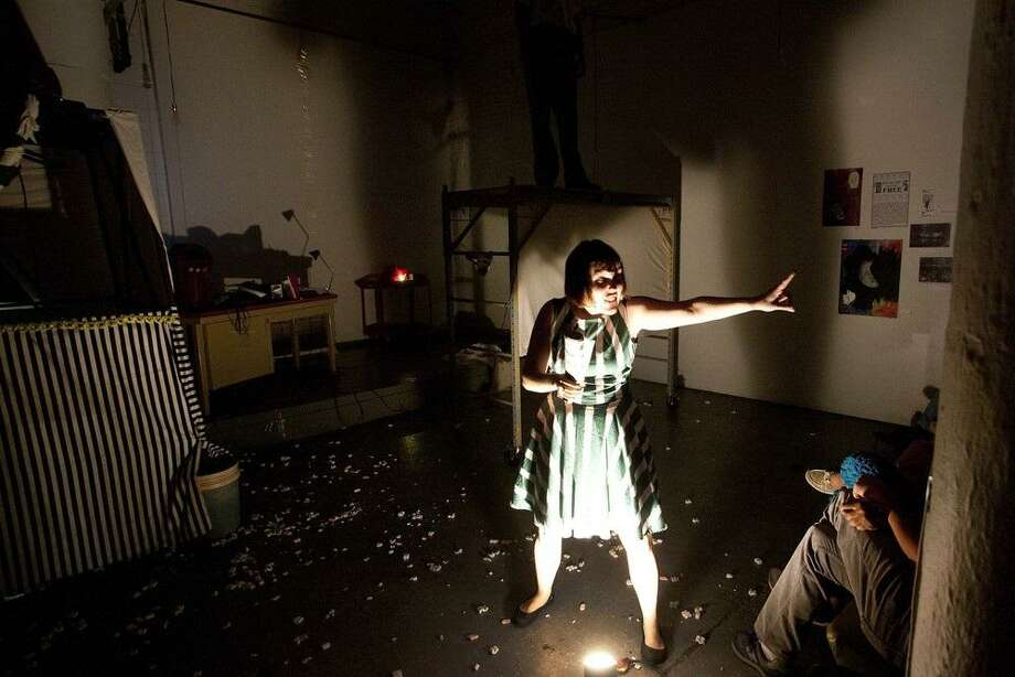 """Miniature Curiosa is presenting a new piece -- """"The Clown Was Stung by Wasps"""" -- and offering a free workshop during the 2017 edition of Luminaria. Photo: Courtesy Photo"""