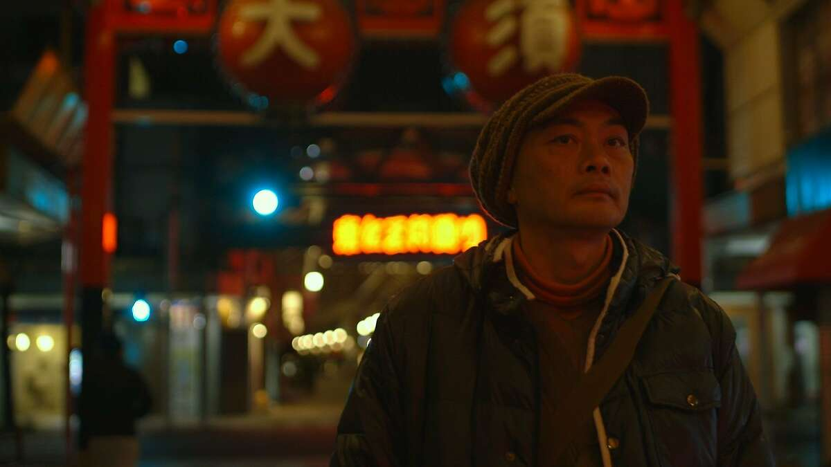 Punk rocker-turned monk Ittetsui Nemoto visits a nightclub as part of his efforts to counsel suicidal folks in the documentary �The Departure.����� CAPTION CREDIT:��� Matson Films