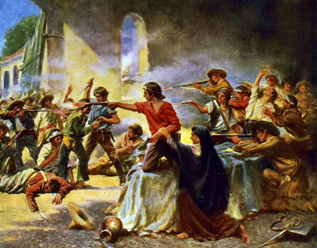 """Texans were recent occupants of the Alamo """"It's not emphasized enough, the 'Defenders of the Alamo,' were only seven months earlier, the invaders of the Alamo,"""" Ramos said, referring to the siege of Béxar, an early campaign from Texas revolutionaries against the Mexican government in modern day San Antonio."""