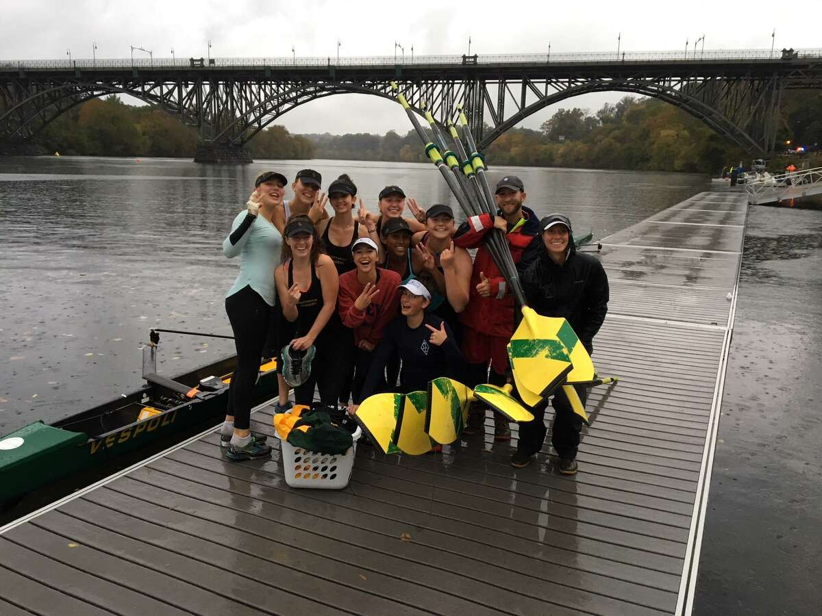 Greenwich Academy's women's high school junior varsity eight boat placed third at the Head of the Schuylkill Regatta in Philadelphia, Pa., last weekend.