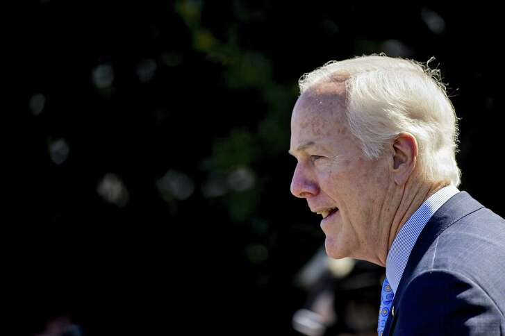 Sen. John Cornyn expressed fresh concerns Wednesday about the fate over a nearly $61 billion request to help Texas rebuild after Hurricane Harvey.