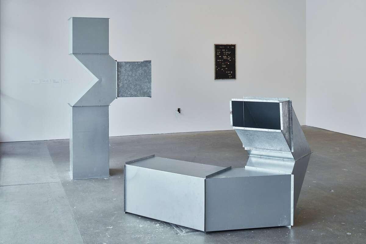 Mechanisms, 2017; installation view, Wattis Institute.