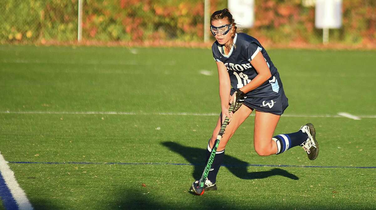 Jessica Hendry set a school record for most goals in a season after moving from defense to forward as a senior.
