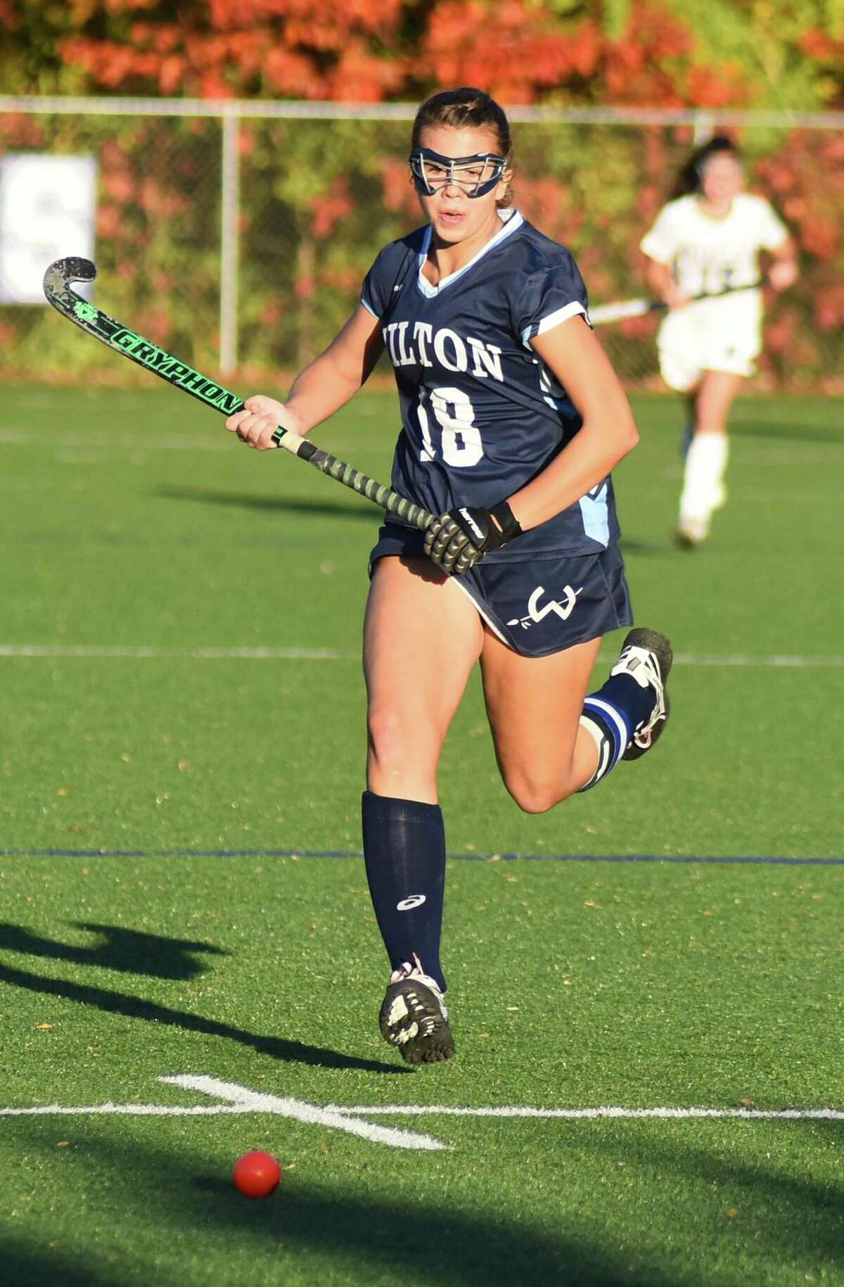 Jessica Hendry set a school record this fall.