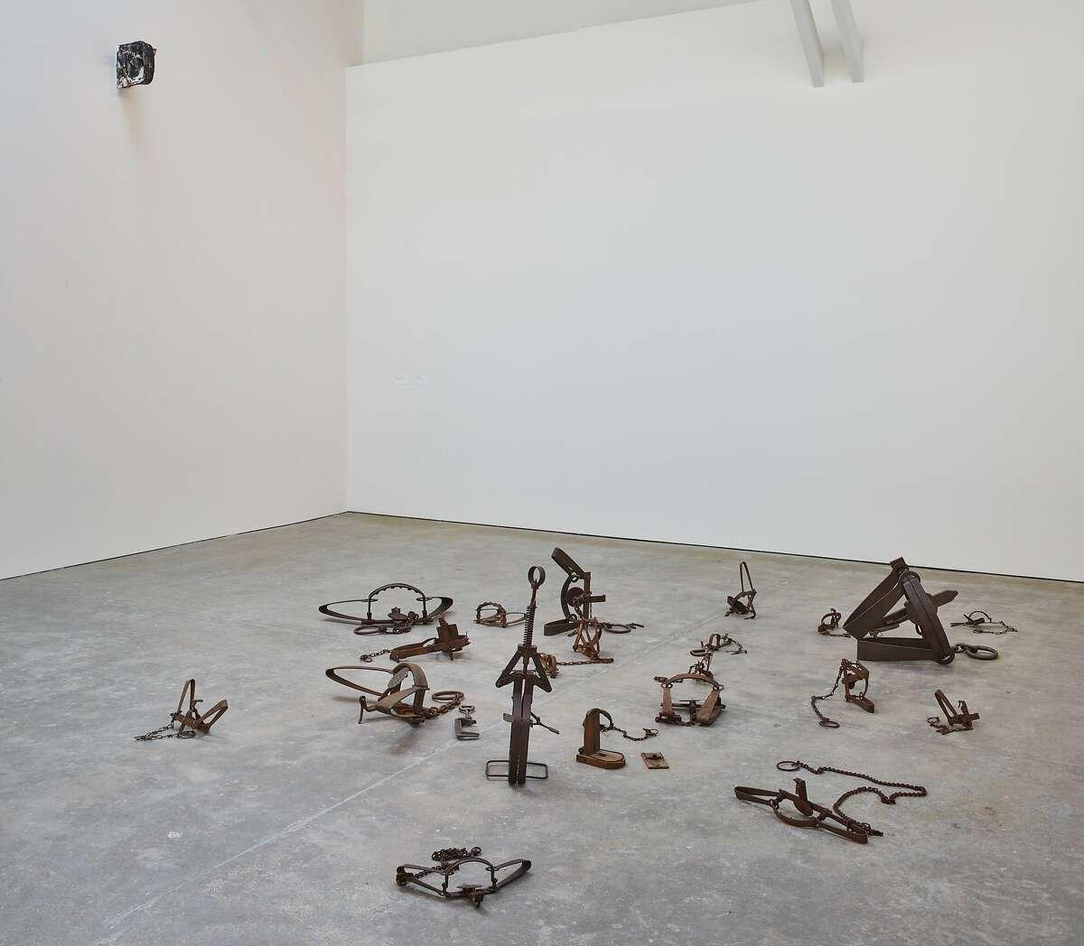 Mechanisms, 2017; installation view, Wattis Institute