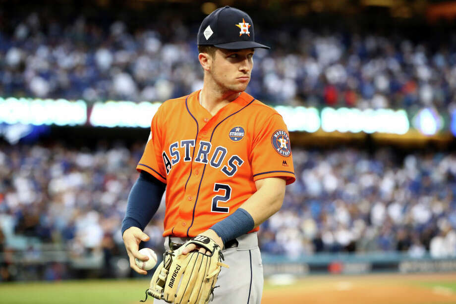 """PHOTO: Houston Astros fans get the coolest tattoosIn a new video posted to Instagram account Astros third baseman Alex Bregman teases a new informative series.It's been said that baseball's second language is Spanish so it makes sense for """"honorary Latino"""" Bregman to be able to speak and understand Spanish.See how Houston Astros fans celebrated the team's first World Series championship... Photo: Ezra Shaw/Getty Images"""