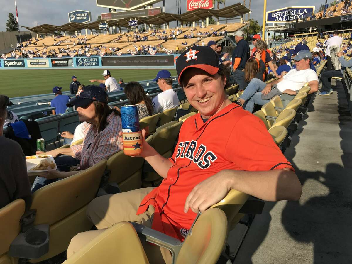 PHOTOS: Astros fans at Dodger Stadium for Game 7 Andrew Watt maxed out his credit cards to be able to see all seven Astros-Dodgers World Series games in person. Browse through the photos for a look at Astros fans at Dodger Stadium for Game 7.