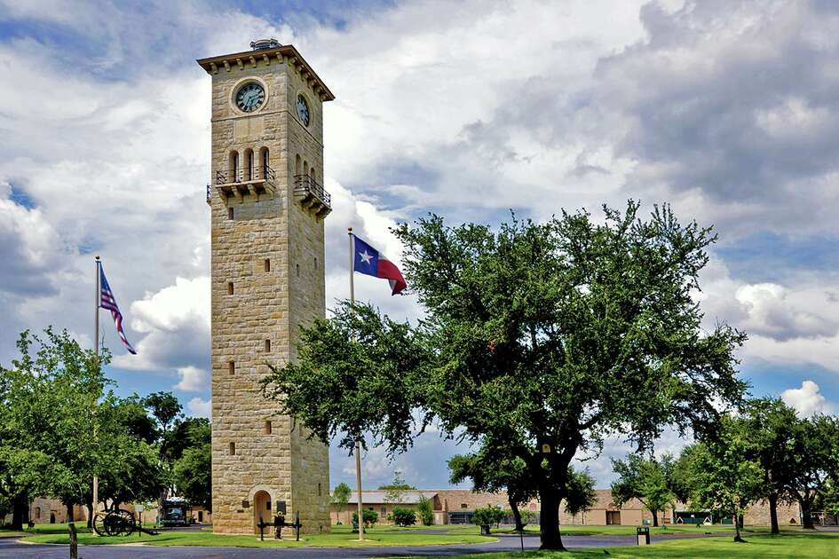 The historic Quad Tower stands tall at JBSA-Fort Sam Houston.