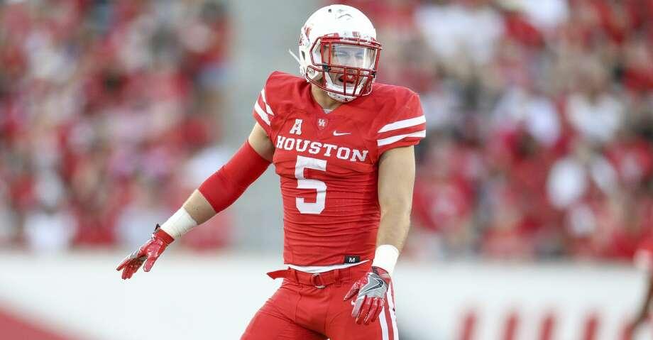 University of Houston safety Collin Wilder underwent surgery on his left knee Wednesday. Photo: UH Athletics