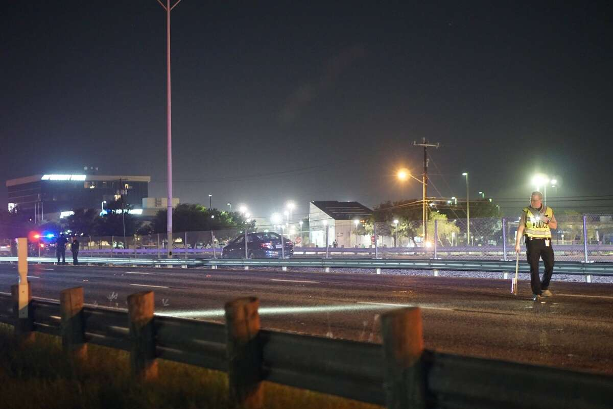 A man died as he attempted to cross Highway 90 near West Military Drive about 8:20 p.m. Wednesday Nov. 1, 2017.