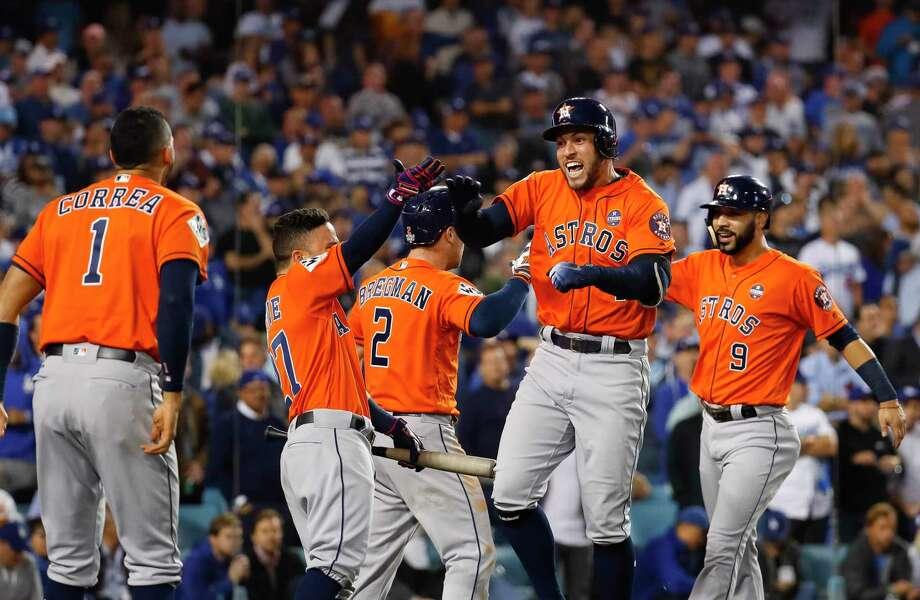 Internet celebrates Astros winning first World Series - San Antonio ... 3a8e60e98d