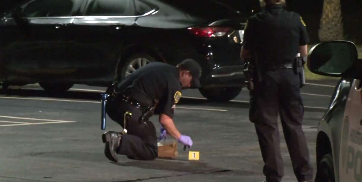 One man was injured early Thursday after gunfire at an Astros party at a north Houston strip club. (Metro Video)