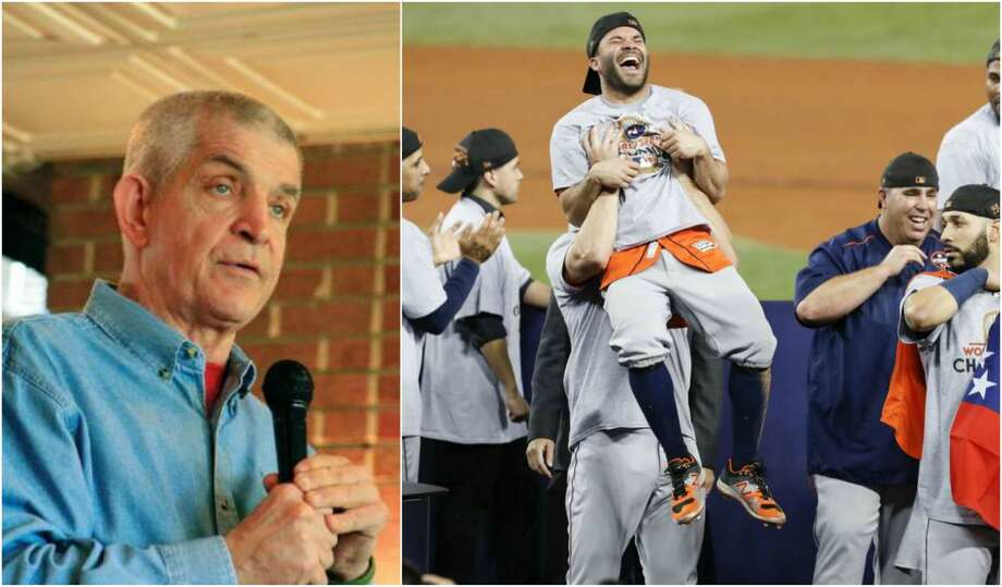 "Houston's Jim ""Mattress Mack"" McIngvale made a big World Series bet and now he has to pay up after the Astros defeated the Los Angeles Dodgers Wednesday night 5-1. Photo: File Photo/ : Brett Coomer/Houston Chronicle"