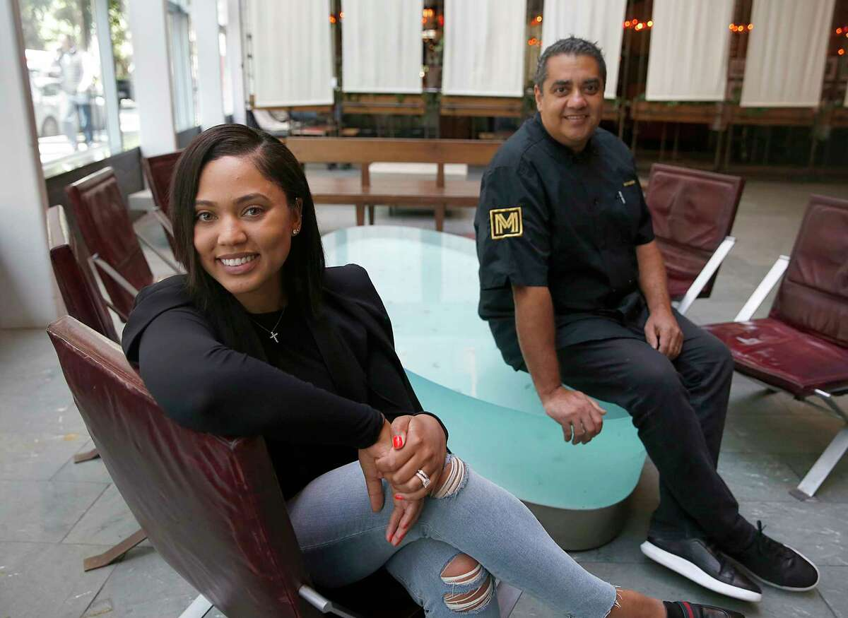 Ayesha Curry (left) partnered with Michael Mina (right) on new restaurant called International Smoke which will replace RN74 in San Francisco. International Smoke will open a branch in Houston in early 2018.