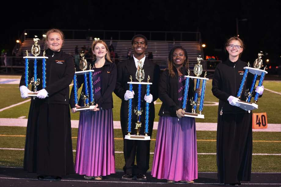 This past weekend, the Edwardsville Marching Tigers competed at the Belleville East Marching Invitational placing second in Class 4A prelims. Photo: For The Intelligencer