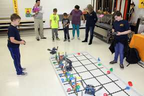 STEAM event took place at Bad Axe Elementary Thursday evening.  STEAM event took place at Bad Axe Elementary Thursday evening.