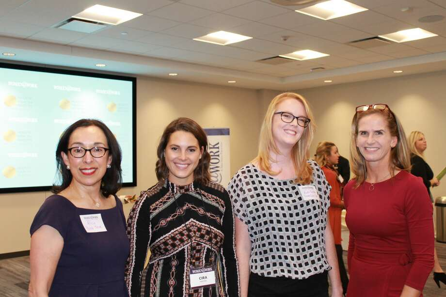 Were you Seen at the Women, Technology and Entrepreneurship event with Darcy Frisch on November 1, 2017, at the Hearst Media Center? Photo: Natalia Robinson