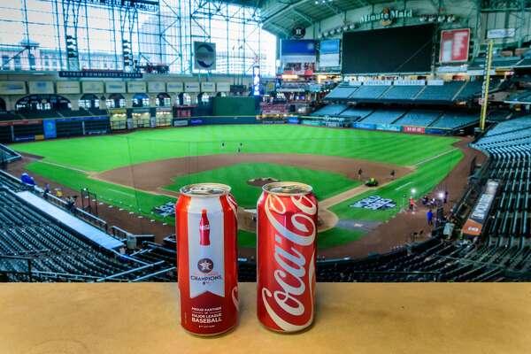 Coca Cola Releases Commemorative Astros Championship Cans Limited