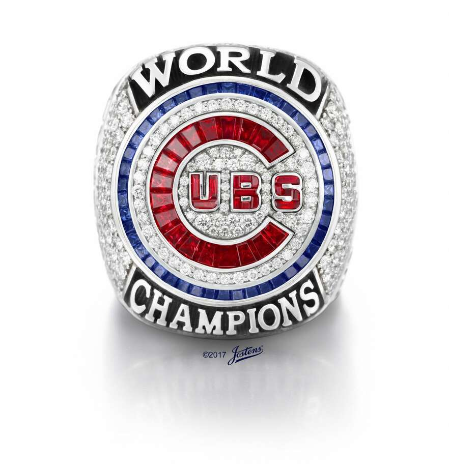 An authentic Chicago Cubs World Series ring has been removed from an online auction, and the scout who tried to sell it is no longer with the team. (PRNewsfoto/Jostens) Photo: PRNewsfoto/Jostens/TNS