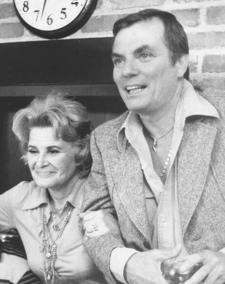 """Peter Marshall narrates and appears in """"Wait for Your Laugh,"""" a documentary about Rose Marie (left), a regular on his """"Hollywood Squares"""" television show. Photo: Courtesy Of Rose Marie"""