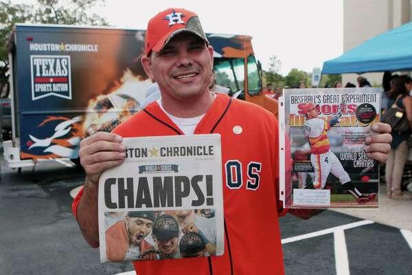 1cf98974f Astros win turns Houston into a sea of orange as fans savor World ...