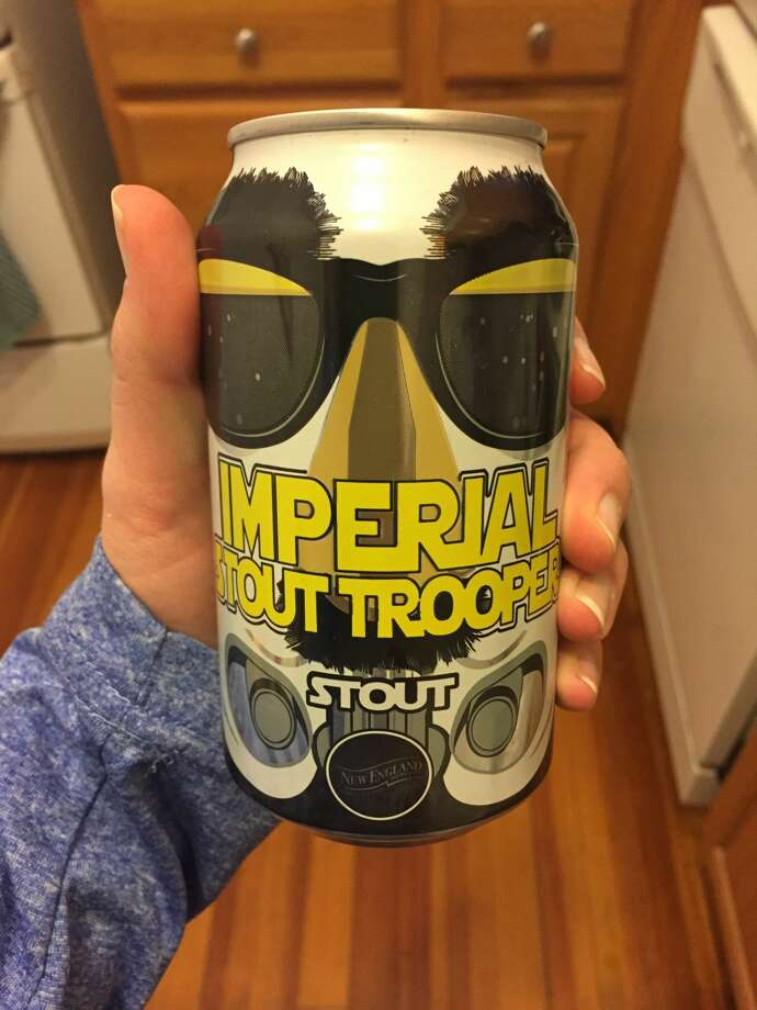 New England Brewing Co. in Woodbridge has been serving their Imperial Stout Trooper since 2014, and it has been flying off shelves ever since. Photo: Caitlin M. Bagley