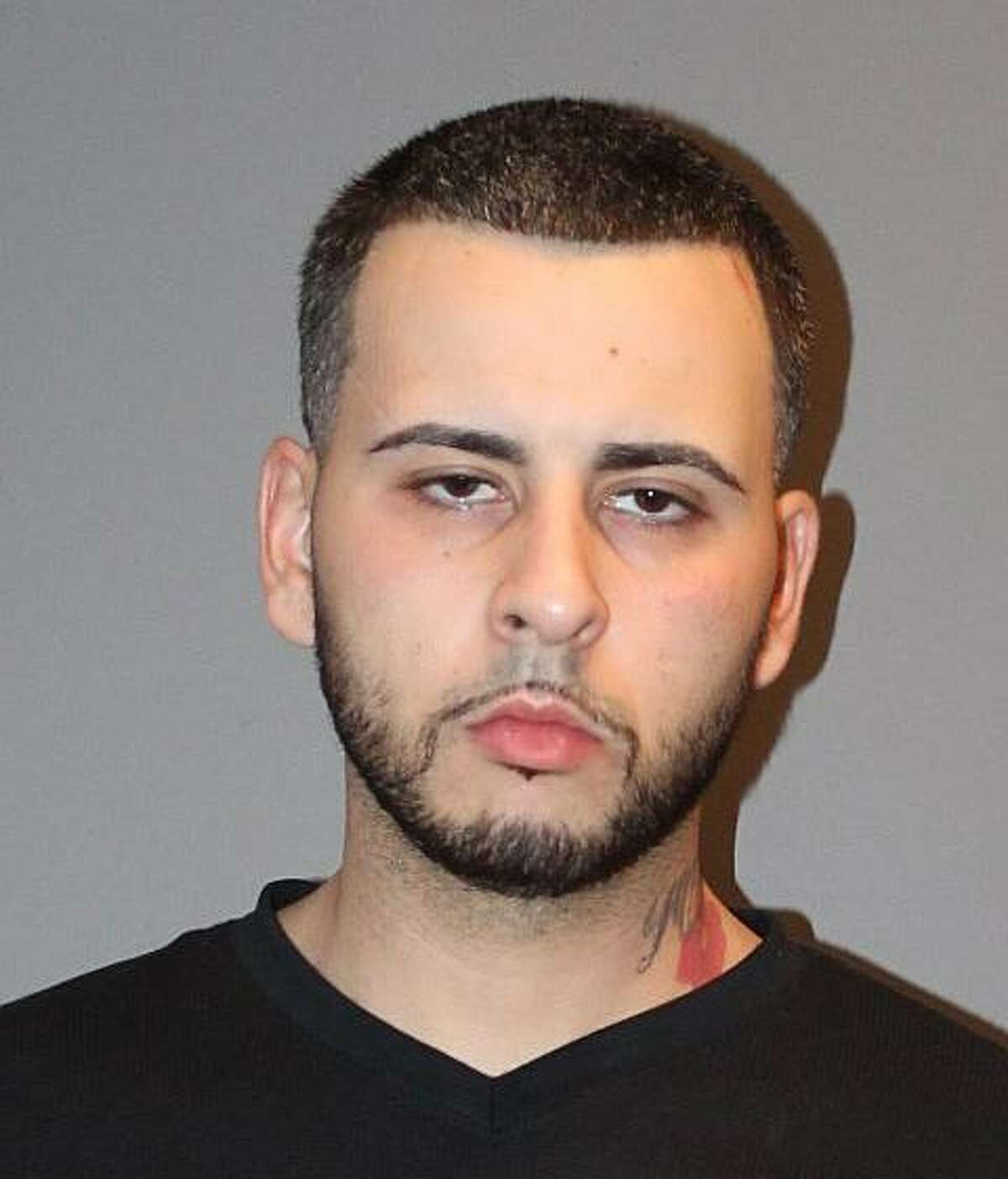 Anthony Velez, 25, of Bridgeport, Conn., was charged with possession with intent to sell heroin, possession with intent to sell crack cocaine, possession of drug paraphernalia in drug factory situation, possession with intent to sell within 1,500 feet of a school, illegal possession of narcotics (oxycodone hydrochloride), illegal possession of a controlled substance (Alprazolam), illegally obtaining or supplying drugs, failure to keep narcotics in its original container and risk of injury to a minor, Stratford police said.