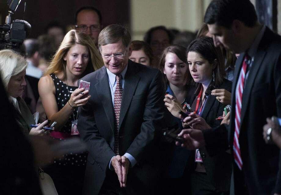 """U.S. Rep. Lamar Smith, R-San Antonio, called his announcement """"a big decision, a tough decision, one I am relieved to have made in a way."""" Photo: Bill Clark / Associated Press / CQPHO"""