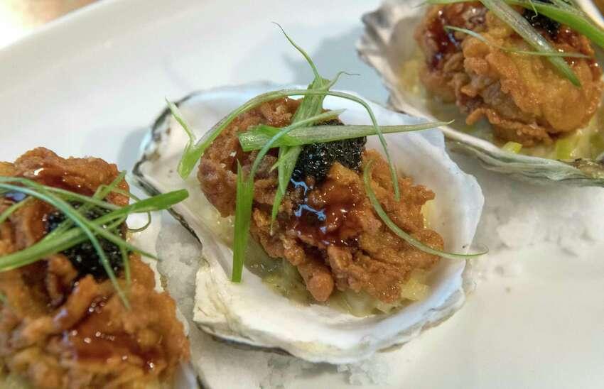 American15 Church. 15 Church St., Saratoga Springs. 518-587-1515.15churchrestaurant.com. In photo: Buttermilk fried oysters.