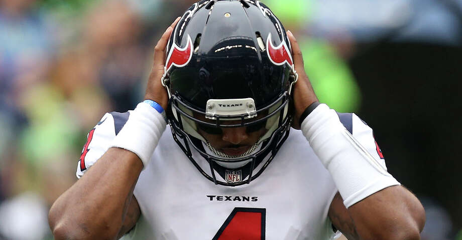 Deshaun Watson, TexansWatson was enjoying one of the best rookie seasons for a quarterback in NFL history before a torn ACL brought everything to an end before the team played its eight game of the 2017 season.Browse through the photos for other notable Houston sports injuries through the years.  Photo: Godofredo A. Vasquez/Houston Chronicle