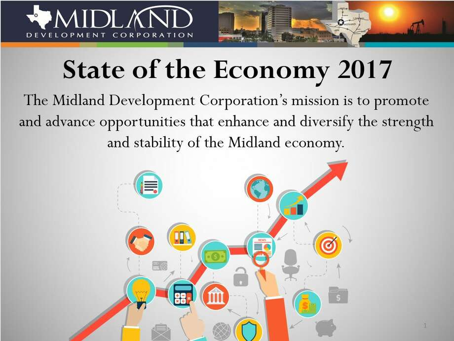 State of the Economy,  Midland Development Corporation presentation. Photo: Midland Development Corporation