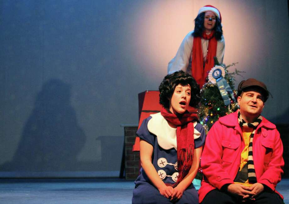 "A scene from the Wilton Playshop's 2016 holiday season show, ""A Charlie Brown Christmas."" Photo: Stephanie Kim / Hearst Connecticut Media File Photo"