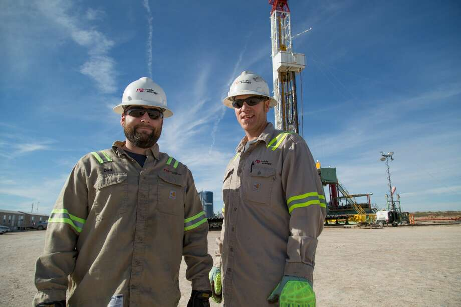 Noble Energy crew members in Pecos pose during the company's operations in the Southern Delaware Basin. The company, which initially gained a foothold in the Delaware in 2015, sees the region as a significant growth asset. The company is receiving the Hearst Energy Award for Company Performance. Photo: Photo Courtesy Noble Energy