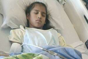 In an undated family photo, Rosa Maria Hernandez, 10, who was brought to the United States illegally as a baby and has cerebral palsy. En route to her emergency gall bladder surgery, Hernandez's ambulance was stopped at a Border Patrol checkpoint. Agents followed to the hospital, guarded her room and took her into custody afterward.