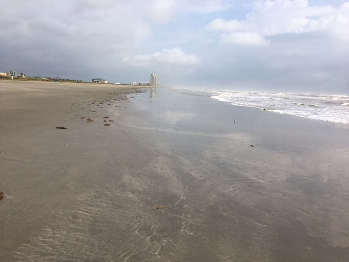 The stretch of beach where the body was found is not considered dangerous.