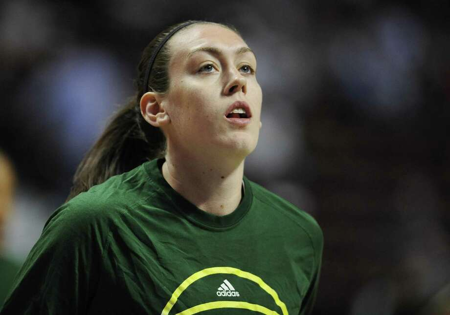 Former UConn star and current Seattle Storm player Breanna Stewart. Photo: Associated Press File Photo / AP2016