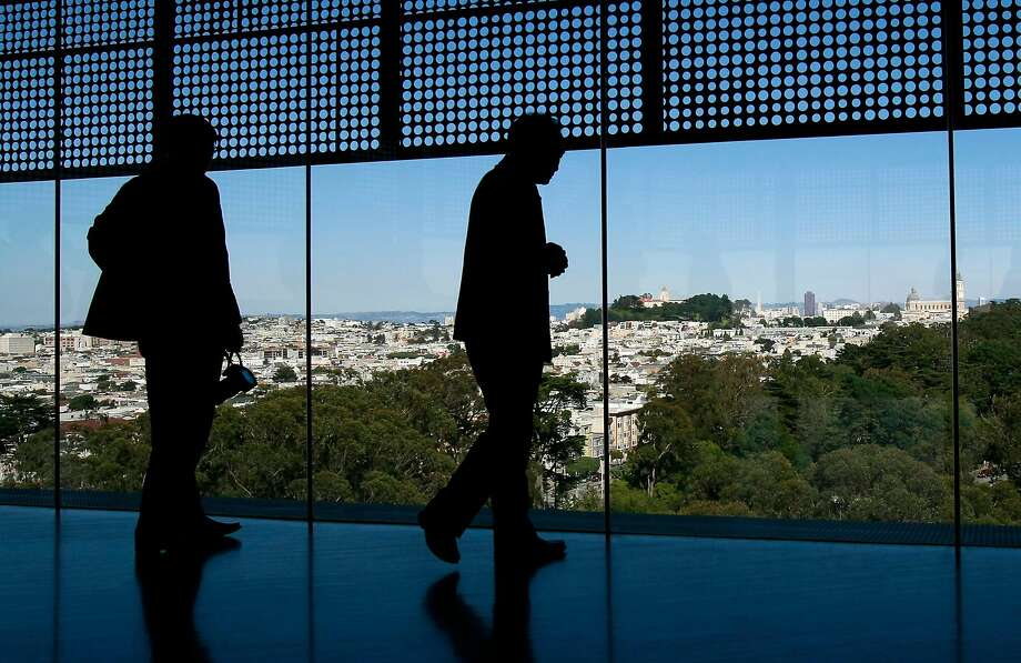 The view from the tower of the de Young Museum. Photo: Brant Ward, The Chronicle