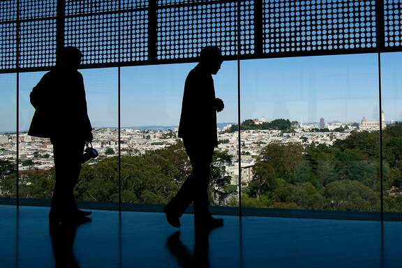 View from the top of the de Young