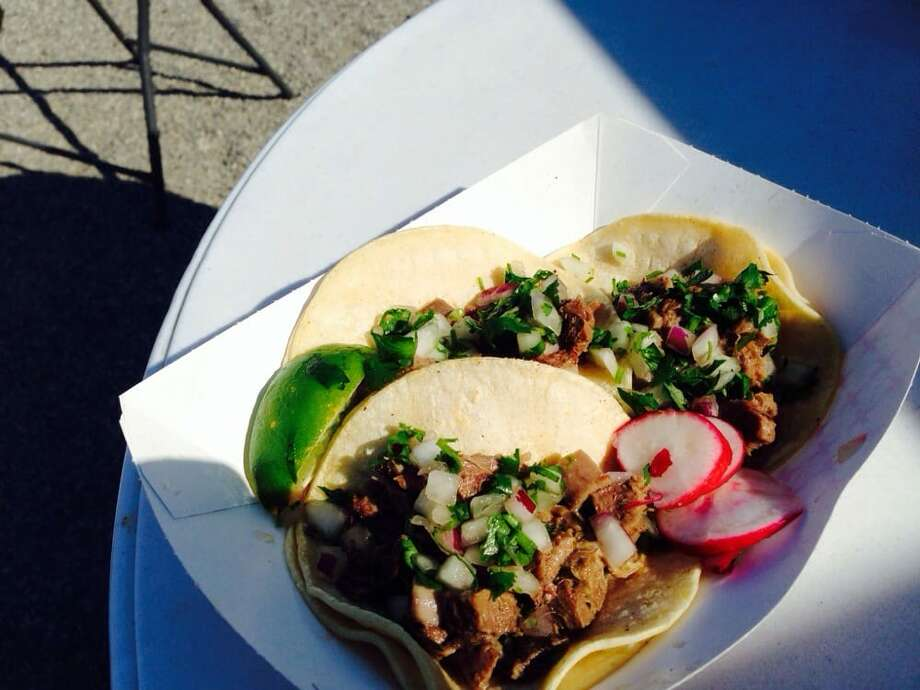 """Amonos! Taco Truck, BellevueKimberly M.: """"So delicious! Fast, inexpensive, and so so good. Everything  I've had off the menu here has been great. I especially like the paleo  plate as a healthy option. It's so good and very filling. Super friendly  staff."""" Photo: Maikal H./Yelp"""