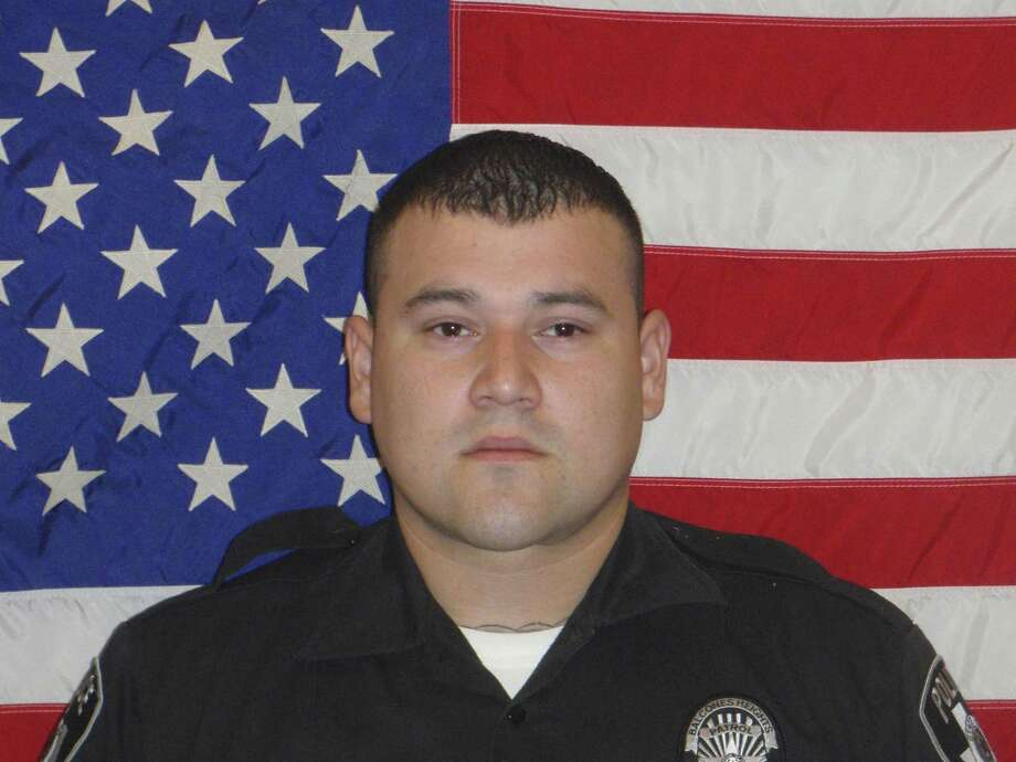 Julian Pesina, a Balcones Heights police officer, was shot and killed late Sunday while off duty in Northwest San Antonio. Photo: Courtesy / Courtesy Photo