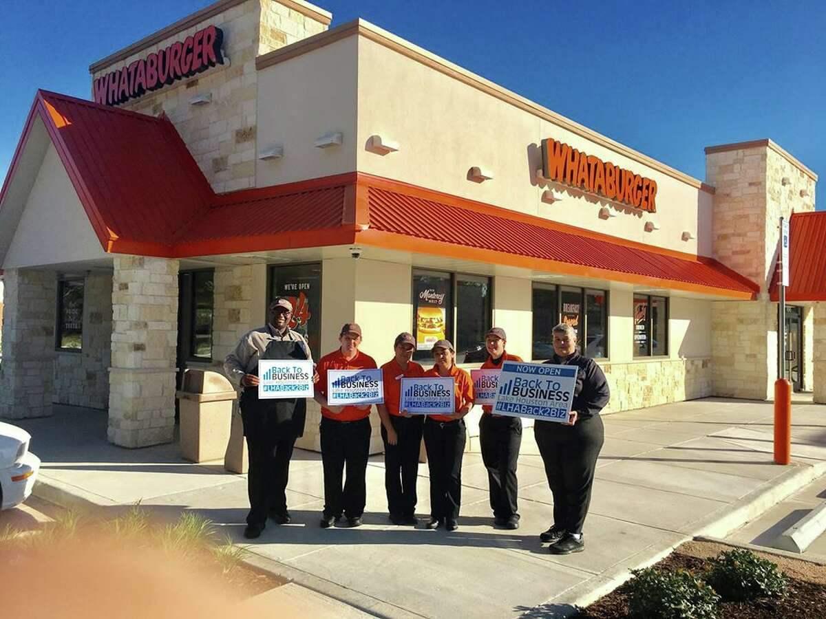 The Whataburger in Kingwood at 4545 Kingwood Dr. is back in business.