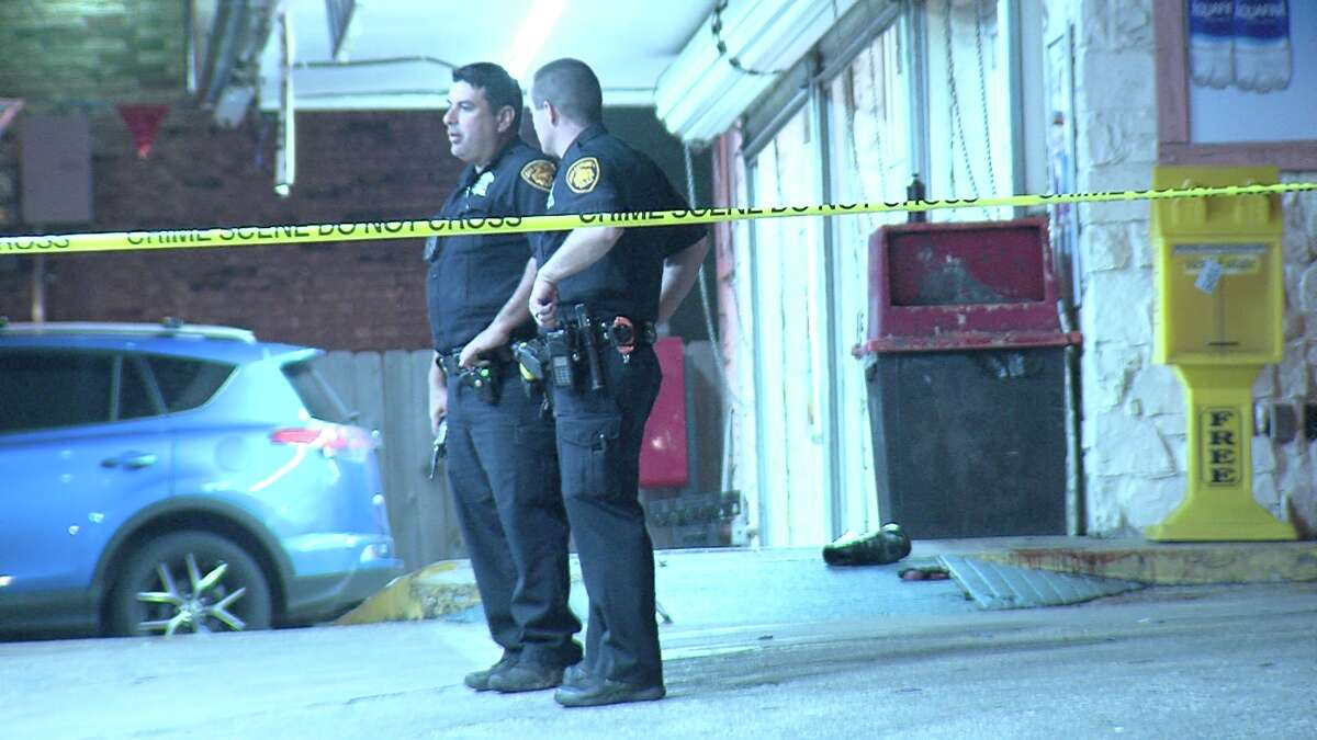 The suspect allegedly opened fire on the 35-year-old victim around 10:45 p.m. near Guadalajara Drive and El Sendero Street, police said.