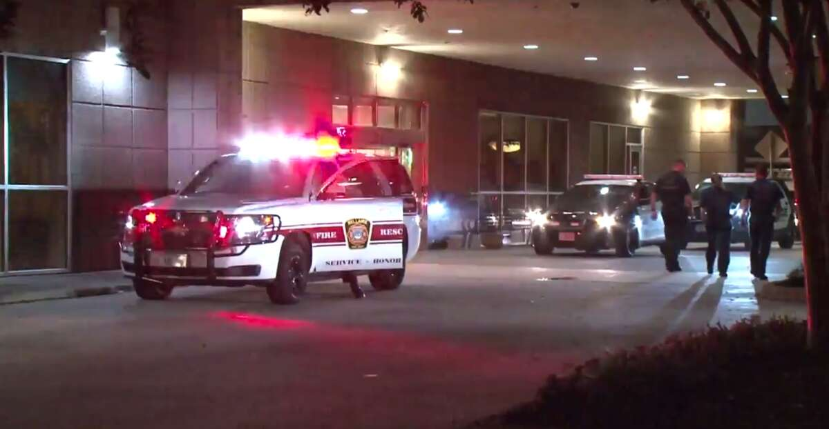 A man was found late Thursday with a gunshot wound to the face in the parking lot of a hospital in Bellaire. (Metro Video)