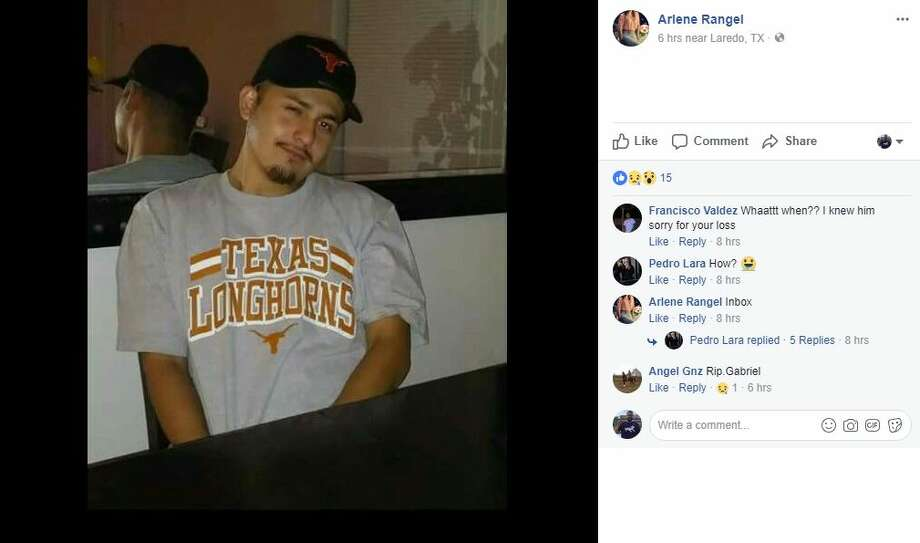 According to police, Gabriel Diaz, 24, was shot several times outside his residence. Photo: Facebook