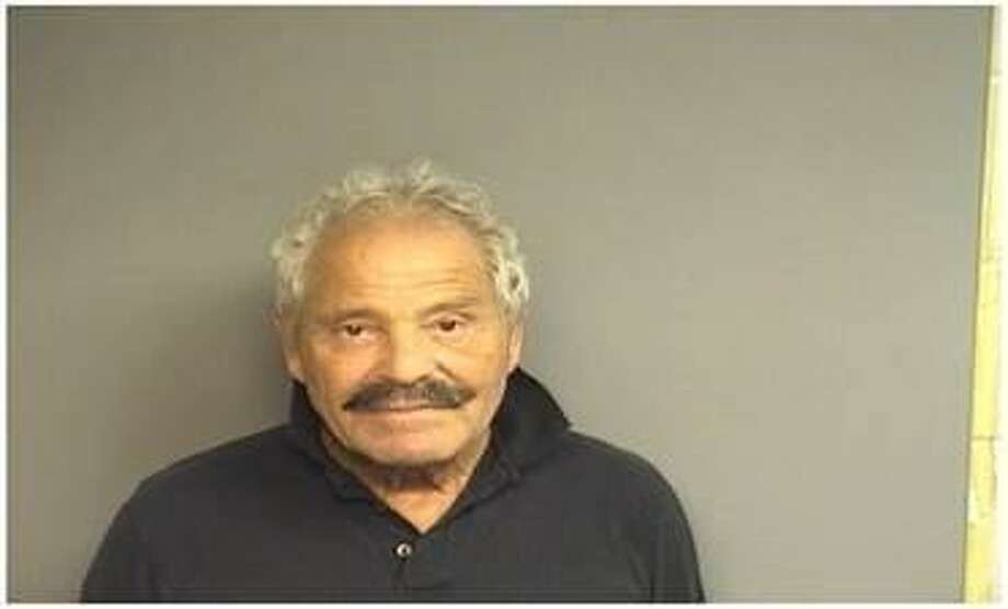 Jacques Allouf, 70, of Stamford, was charged with holding onto his rental car for over 30 months without paying his bill. Photo: Stamford Police / Contributed