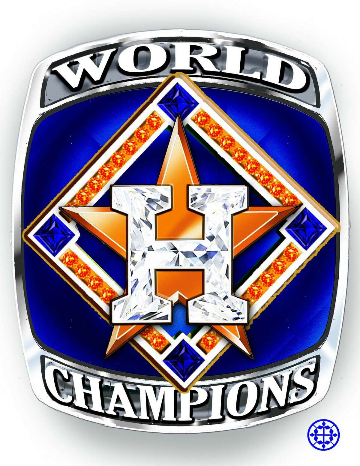 Fred Cuellar from Diamond Cutter's international created some World Series championship ring designs for the Astros. The Houston jeweler put in a bid for the contract to make the official rings.