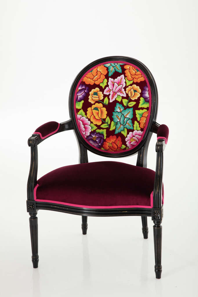 Traditional Mexican Craftsmen Reinvented Roche Boboisu0027 Iconic Florian Chair  In Their Own Style. Photo