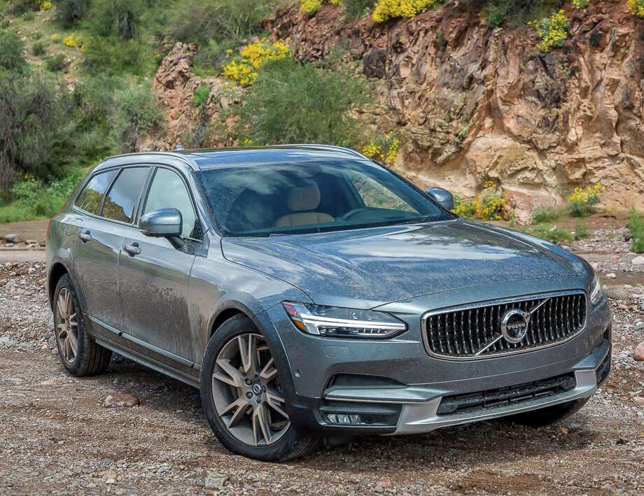 The Volvo V90 Cross Country T6 AWD has a base price of $55,300, and is outfitted with a 2.0-liter supercharged and turbocharged inline four-cylinder engine, producing 316 horsepower and 295 foot-pounds of torque. It's connected to an eight-speed automatic transmission with all-wheel drive. Photo: Volvo North America
