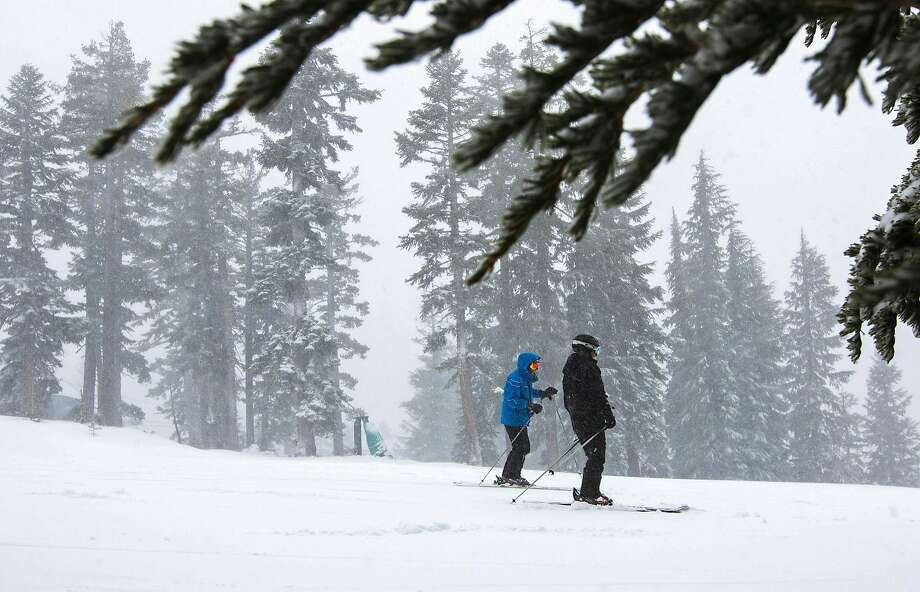Forecasters are expecting up to two feet of snow in the Sierra this weekend. Photo: Associated Press